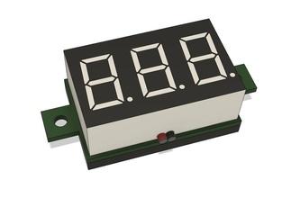 voltímetro dc dy3631k dy3631k mini voltímetro modelo montaje dispositivo diseño electrónica mano diseño radio componente 7 seg monitor electricidad voltaje ensayador voltios indicador pasatiempo bricolaje diy pasatiempo