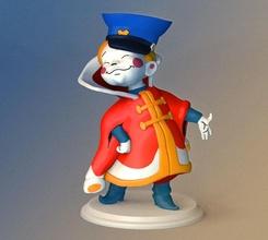 vovka fairy kingdom toy cartoon toon fun character plastic boy figurine statuette statue games toys games toys