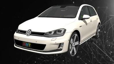 vw golf 7 juegos-juguetes coche de la rueda de la automoción velocidad rápido deporte las carreras de los neumáticos de la unidad vehículo juegos los juguetes juegos de juguetes otros