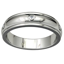 wedding band ring men stl file ready 3d printing - cc71m band ring ring band wedding ring men ring jewelry ring ring model wedding band jeweler ring marriage ring silver ring diamond ring bridal set shadow band gold ring wedding band ring women ring gems ring gemstone ring 3d ring bijouterie jewelry rings