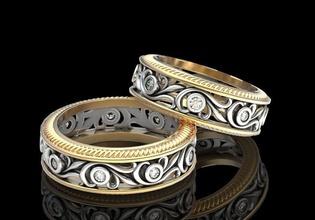 wedding ring love pair v2 jewelry 3d prin gems jewel ring silver gem printable diamond engagement white jewellery necklace black diamond ring gemstone sapphire sterling stone gold jewelry rings