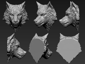 wolf head mask head face reaper overwatch game desktop cosplay games toys games toys accessories game accessories hobby diy hobby diy other art sculptures