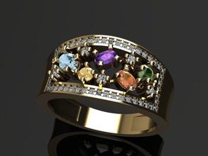 Frau Ring Kissen Steine Frau Ring Steine leuchtenden Gold Luxus druckbar Mode Schmuck Oval Kissen Diamant brillant Karat Silber Diamant Ring Lünetten Amethyst Smaragd Topas Ringe