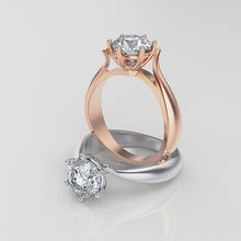 mujer anillo mujer anillo resumen oro plata joyería joya plano 3dprinting canalla diamante brillante anillo diamantes rinoceronte creación prototipos joyería joya anillos