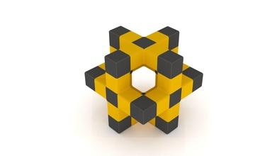 cube octaèdre métatron sacré géométrie mystique alchimie mysticisme juif math art mathématique sculpture bureau abstrait géométrique forme table cube géométrique forme jouet mathématique art
