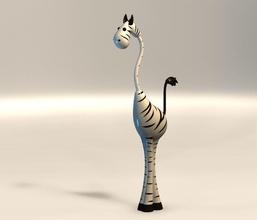 zebra figurine zebra figurine statue horse safari animal zoo african interior decor figure nature games toys games toys