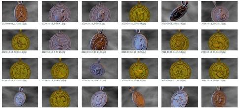 zodíaco pingente conjunto 12 símbolos zodíaco astrológico placa Leo Escorpião Gêmeos Virgem Câncer horóscopo símbolo Capricórnio Áries pingente colar peixe leão ouro rashi Touro Libra joalheria