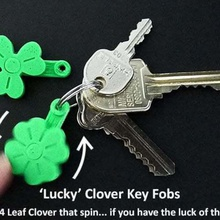 'lucky' clover spinning key fobs jewelry keychains unique trendy st patricks st patrick s day 039 st patrick& simple shamrocks shamrock saint patrick saint rotating ring print place present patricks patrick organization organisation novelty novel national moving lucky luck key chain keys keychain key ring key irish clover irish ireland household holiday green good luck gift fun fobs fob festive fashion easy clover leaf clover charm celebration 4 leaf clover 4 leaf