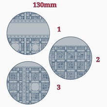130mm bases walkway bases industrial miniature base sector mechanicus walkway wargaming warhammer 40k wh40k toy_game_accessories