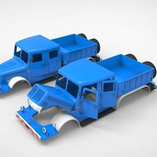 141 stl 1 10 fdm poly low mercedes bearing functional game cabin tire tank army history rc oldmillitary servo rocket wheels toy cadilac lasalle model printing car truck tractor trailer