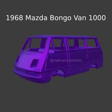1968 mazda bongo furgone 1000 mazda bongo bongo mazda camion pannello autobus autobus pannello pannello camion collezione modello macchina sport motoristico corsa rc passatempo retrò classico macchina