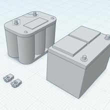 1 10 macchina batteries versione terminale morsetti ca batteria motore baia motore vecchio gel cellula piombo acido terminale morsetti