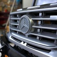 1 14 routière zetros 6x6 mercerdes-benz logo divers licens l'échelle de camion l'échelle des accessoires le camion scx contrôle à distance rc accessoires 6x6 mercedes merc zetros rc4wd