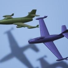 1 200 dassault md450 ouragan game aircraft model miniature wargame