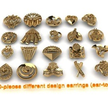 20-pieces earrings-0021-0040 earring tops top diamond-earrings gold-earring jhumka-tops bali buti gold-tops ear-tops