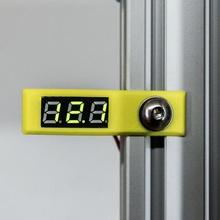 2020 side mount 028 inch mini digital voltmeter voltage tester meter tool 2020 extrusion 2020 mount 2040 2040 bracket 2040 extrusion 2040 mount geekcreit led voltmeter voltmeter box voltmeter case voltmeter frame