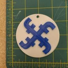 2021 Facebook logo medallón Facebook logo 2021 nazi símbolo supresión gratis habla antecristo