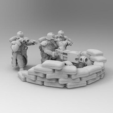 28mm heavy bolter -revised game dkok death korps warhammer 40k 28mm soldier