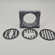 28mm sewer drain game toy game accessories wylochs armory wargaming wargame true tiles tabletop stone sewer pipe sewer scatter terrain rpg roleplaying game roleplaying pathfinder openforge grate gaming game fantasy dungeons dragons dungeon dnd tiles dnd boardgame 28mm