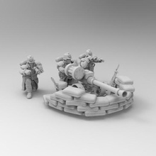 28mm trench fighters autocannon team game dkok death korps warhammer 40k 28mm soldier