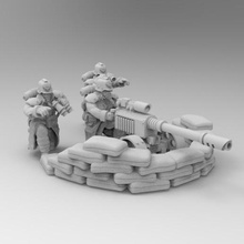 28mm trench fighters lascannon game dkok death korps soldier warhammer 40k