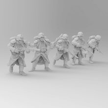 28mm trench fighters poses 1-5 game soldier 28mm death korps dkok 40k