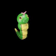 3d caterpie pokemon caterpie pokemon planta tipo ceniza Pikachu