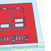 3d printed chargin stencil fashion stencil t-shirt