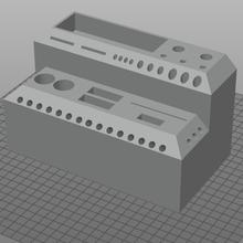 3d stampa attrezzo scatola 3d stampa utensili scatola organizzatore Conservazione chiave inglese allen chiave vite conducente colla bastone ugelli