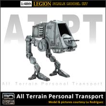 3dscifi terrain personnel transport légion échelle 1 48 1 48 atat at at atst at st atpt at pt légion