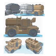 40k civile veicoli camion per consegna serbatoio liquido terreno necromunda escher golia 40k warhammer 40k warhammer admech guardia astartes space marine