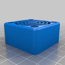 40mm fan cover honeycomb 40mm 40mm fan 40mm fan cover 40mm fan duct 40mm fan mount 40mm sunon bienenwabe hexagon honeycomb noctua fan 40mm sechseck 3d_printer_parts