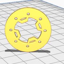 4 Barra anel axialscx24 scx24 tinytinytrucks face plástico bruto 24thscale 24th scx24mbs mbs cadeado cadeado argolas