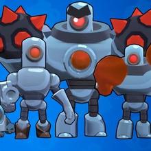 4 robots brawl star game boss robots brawl star brawl stars robot star brawl