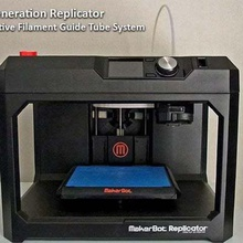 5th generation replicator - filament feed system reduced feeding resistance tool 3d printer accessories system spool holder spool smart extruder smart resistance replicator reliability reduced  guide filament feeding feed extrusion extruder 5th generation 5th