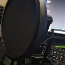 90 anti pop filtro apparecchio anti pop micro microhpone Audio
