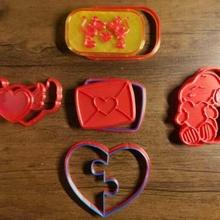 9 valentine's day cookie cutter stamp - 9 cortantes san valent love valentine valentine's cutter cookie stamp amor amistad valentin valentín cortador cortante sello marcador