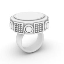 a2 gioielli gioielli cabochon di boemia boho anello