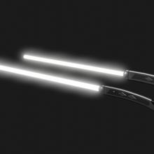 ahsoka Tano Weiß Lichtschwerter Cosplay 3d drucken Star Kriege Weiß Lichtschwerter Cosplay 3d drucken Star Kriege Lichtschwerter ahsoka ahsoka Tano