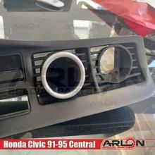 air vent gauge pod 52mm fits honda civic 91-95 arlon special parts honda civic vent pod gauge arlon