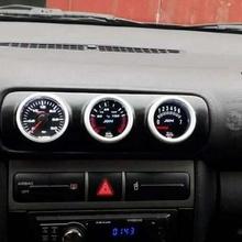 air vent gauge pod 52mm fits seat leon m1 toledo audi a3 8l central triple 3-hole arlon special parts seat leon audi 1m toledo a3 8l vent pod gauge arlon