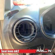 air vent gauge pod 52mm fits seat leon mk2 arlon special parts seat leon mk2 vent pod gauge arlon