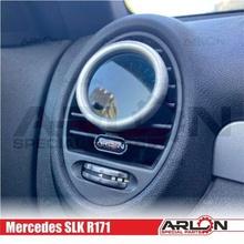 air vent gauge pod 52mm mercedes slk r171 arlon special parts  mercedes slk r171 vent pod gauge arlon