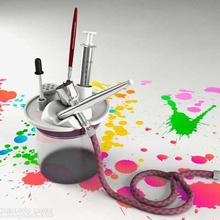 airbrush cleaner set art art tools diy cleaning set cleaner art airbrush stand airbrush cleaner airbrushstand airbrush