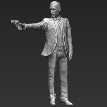 al pacino michael corleone godfather 3d printing ready stl obj art celebrity hollywood figurine miniature mafia niro marlon brando vito corleone