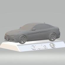 alfa romeo giulia 3d car model high quality 3d printing stl file art alfa romeo giulia 3d stl file 3d printing files auto collectibles 3d model 3d car model alfa romeo