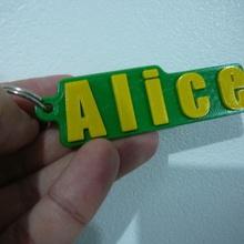 alice locksmith - chaveiro - keychain various alice locksmith chaveiro keychain