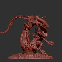 alieni ornamentale artefatto Wow Principe arte statua Stampa Morte alieno predatore 3d lusso collezione