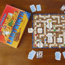 amazeing labyrinth tiles game toy piece replacement board
