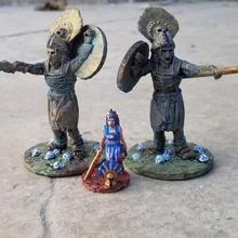 Amazônia Colossi jogos 28mm Amazonas hoplita antigo grego romano estátua colosso Colossi Atenas